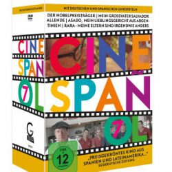 Cinespanolatino 7 DVD Box
